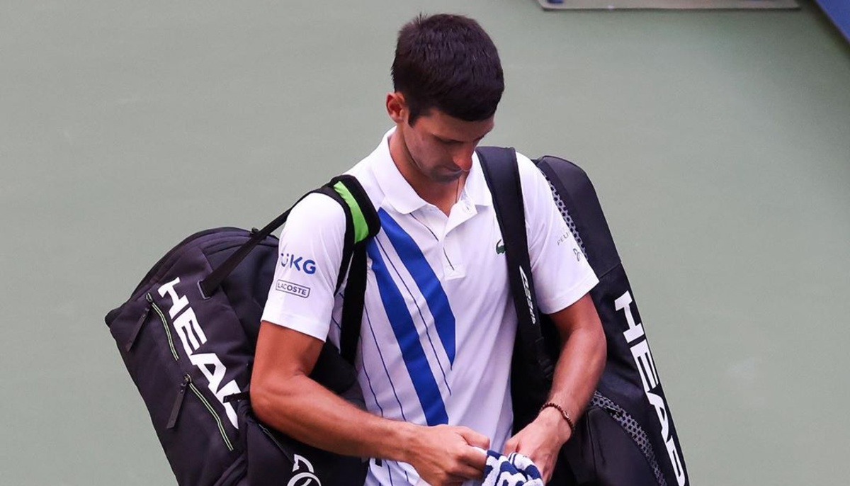 Novak Djokovic Disqualified From U.S. Open After Hitting Line Judge With Ball